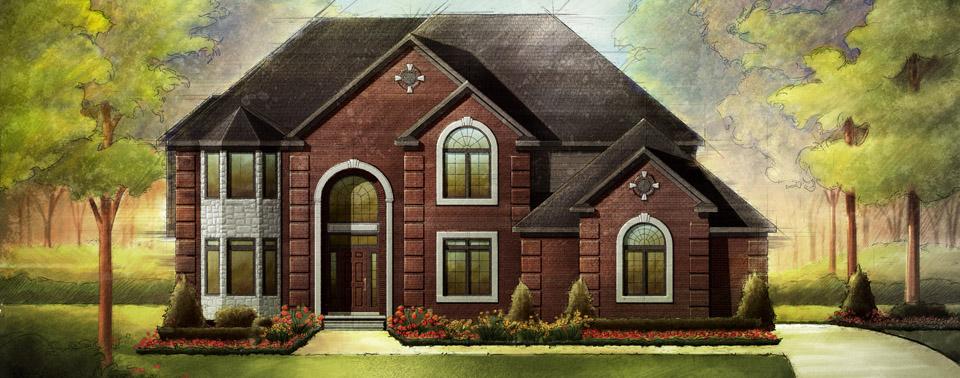 Homes by hannah custom home builder rochester hills for Custom home build calculator